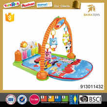 High quallity musical softtextile baby play mat