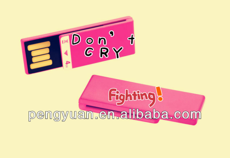 clip usb flash drive for gift promotional