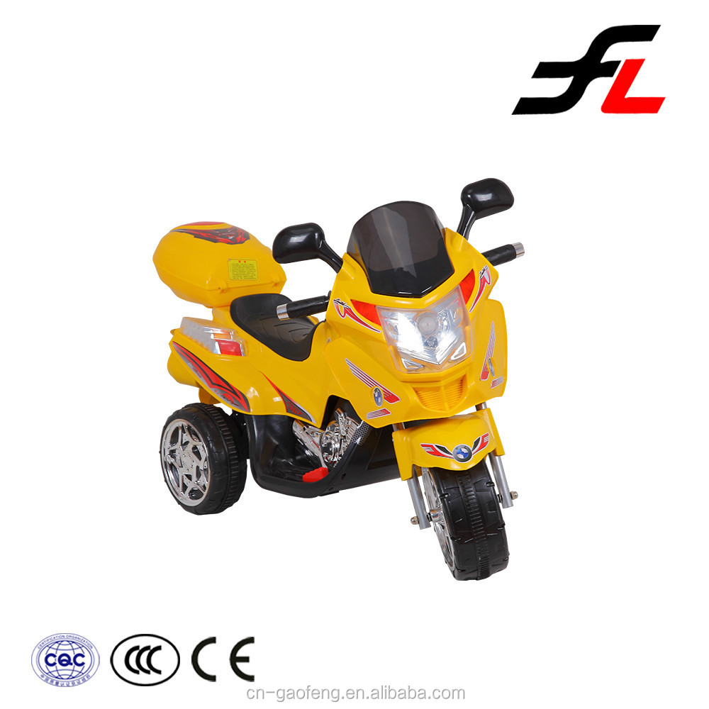 Top quality hot sale cheap price made in china kids plastic motorcycle
