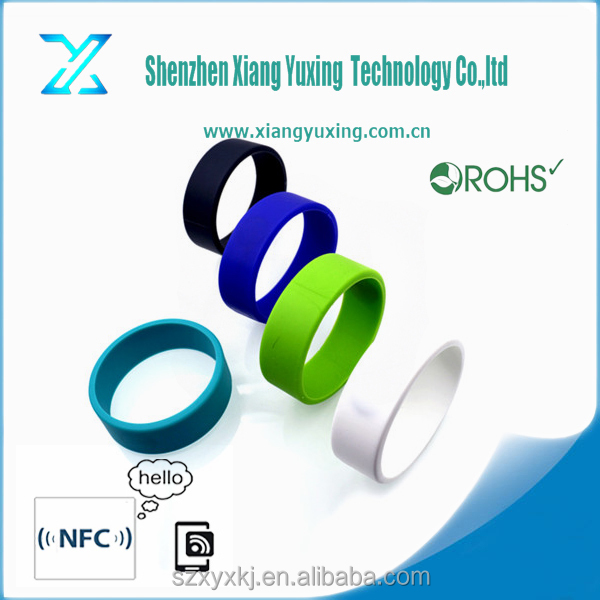RFID wristband for gym/ rfid wristband price