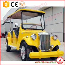Convertible 8 Seats Electric Classic Car/champagne color cars/ Whatsapp: 0086-15803993420