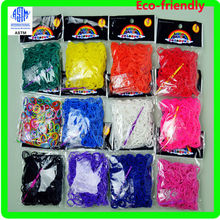 2014 Direct sale from factory high Quality new design beads bubble rubber Loom Bands