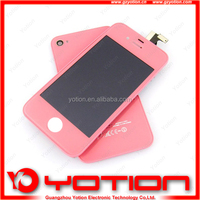 hot sale for iphone 4 full housing kits pink