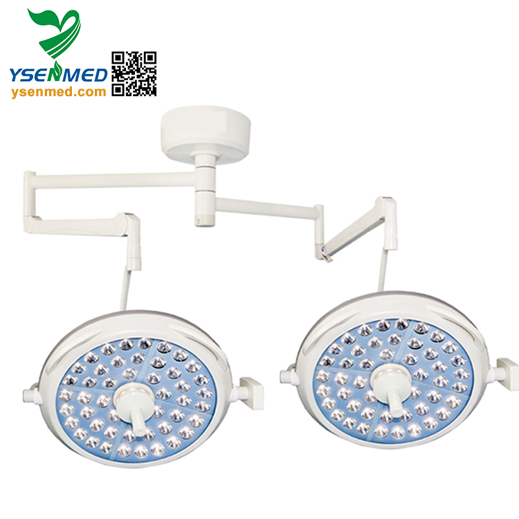 YSOT-LED7272 Double Headed Shadowless LED Surgical Operation Light LED Operation Light/Lamp for Hospital