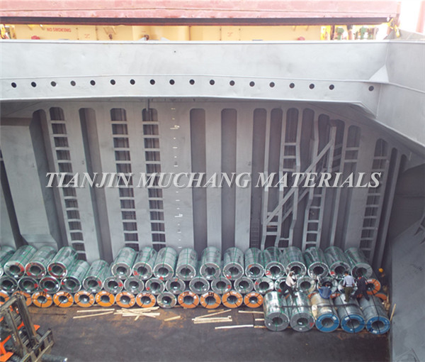 DX51D+Z hot dip galvanized steel coil