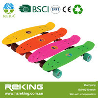 new style hot selling ABS skateboard in 4 wheels popular