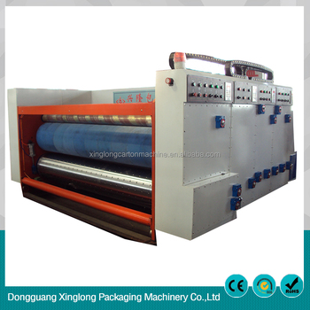 Good price of printing machine for corrugated carton