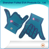 Wholesale cheering giant foam finger/big EVA foam hands