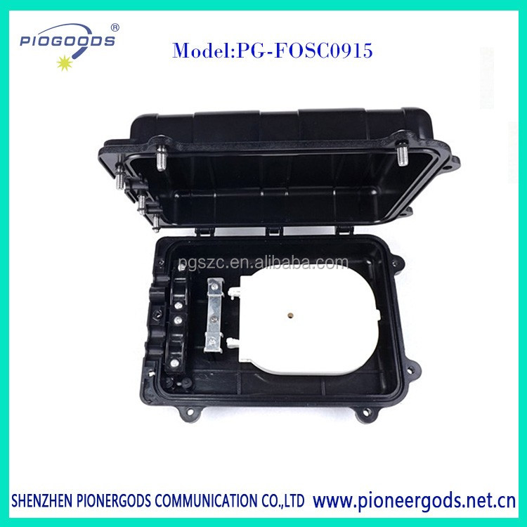 PG-FOSC0915 inline high quality 4 Port 48Cores Aerial Fiber Optic Splice Closure