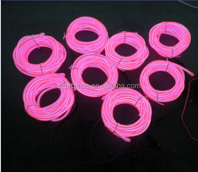 10 colors available bright remote control el wire for EL products