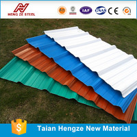 "polypropylene raw material price 7/8"" Corrugated Metal Roof and Wall Panels"
