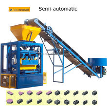 Economic useful recycled concrete block machine