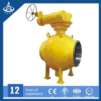 Full Welded large-diameter ball valve for oil and gas pipeline API