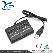 Brand new hot selling ! USB converter for xbox 360 controller adapter to PS3 with high quality