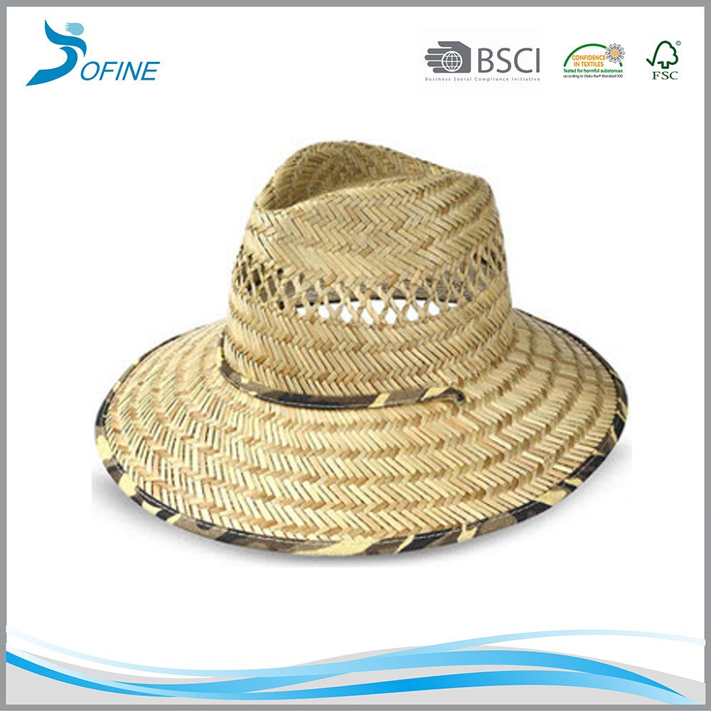 natural grass straw panama hat, hand woven panama straw hat