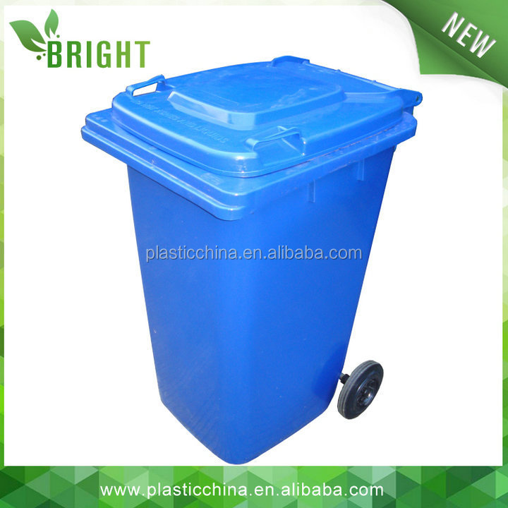 Outdoor Plastic Recycling 240 litre Wheelie Bin