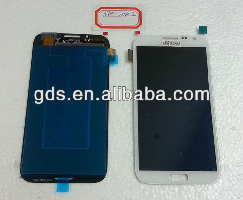 For samsung Galaxy Note 2 N7100 Lcd screen Combo(white & gray)
