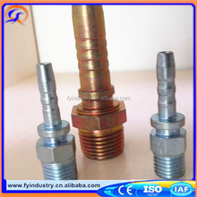 Low price JIC Female Male Carbon steel fitting hose fitting hydraulic adapter