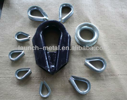 High Quality Plastic Rope Cheap Thimble
