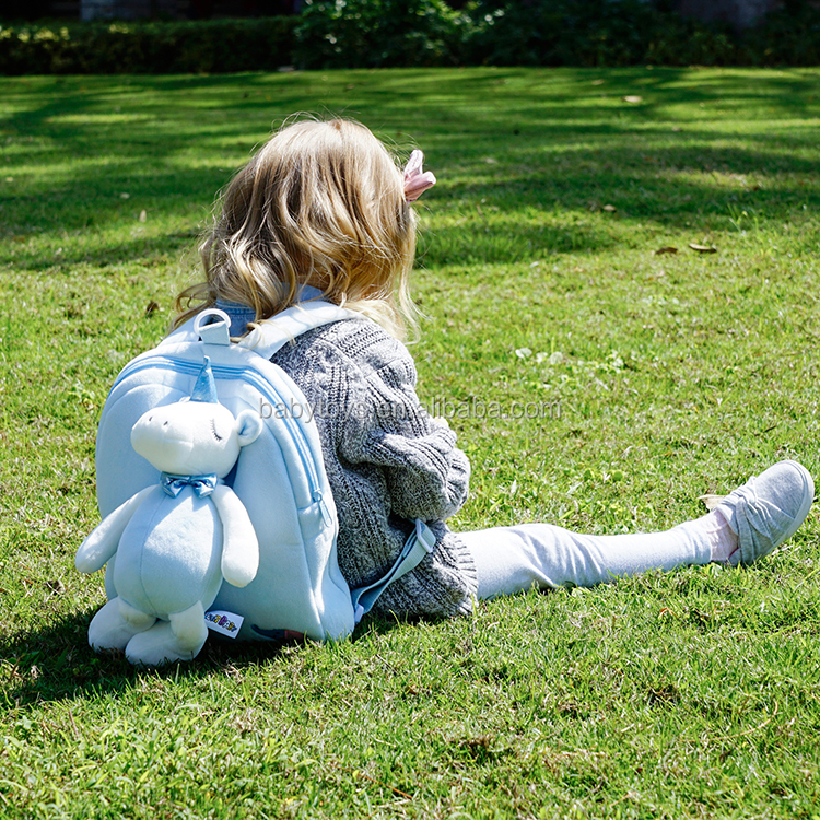 Toddler Anti-lost Plush Unicorn Small Kids Backpack