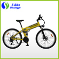 26 inch 21 speed foldable mountain electric bike
