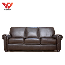 Hot Sales Real Modern Genuine Leather Sofa In China