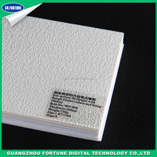 Advertising materials Rough plaster texture eco solvent wall paper