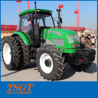 160hp 4wd farm wheel tractor made in China best quality cheapest price strong power hot sales 2016 new model 16+16 shuttle shift