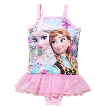 One Piece Child Swimwear/Kids Swimsuit For Girls