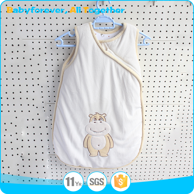 Infant clothes organic cotton baby sleeping bags For newborn baby
