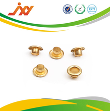 Wholesale high quality metal shoes handbag eyelets gold plated