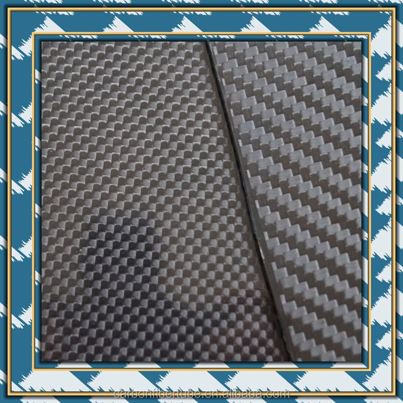 CNC cut twill woven 3k carbon fibre, RC car carbon fiber frame