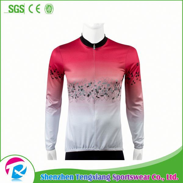 Custom Design Jersey Sky 100%Polyester Cycling China Custom