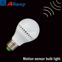 Microwave motion sensor led bulb light 4w Ra>85 automatic radar position stable performance