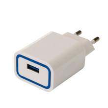 Elegant design 1 port qualcomm quick charge 3.0 usb wall charger for cell phone