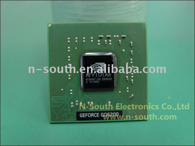 laptop motherboard ic nvidia Geforce GO6200 laptop motherboard notebook motherboard IC CHIP