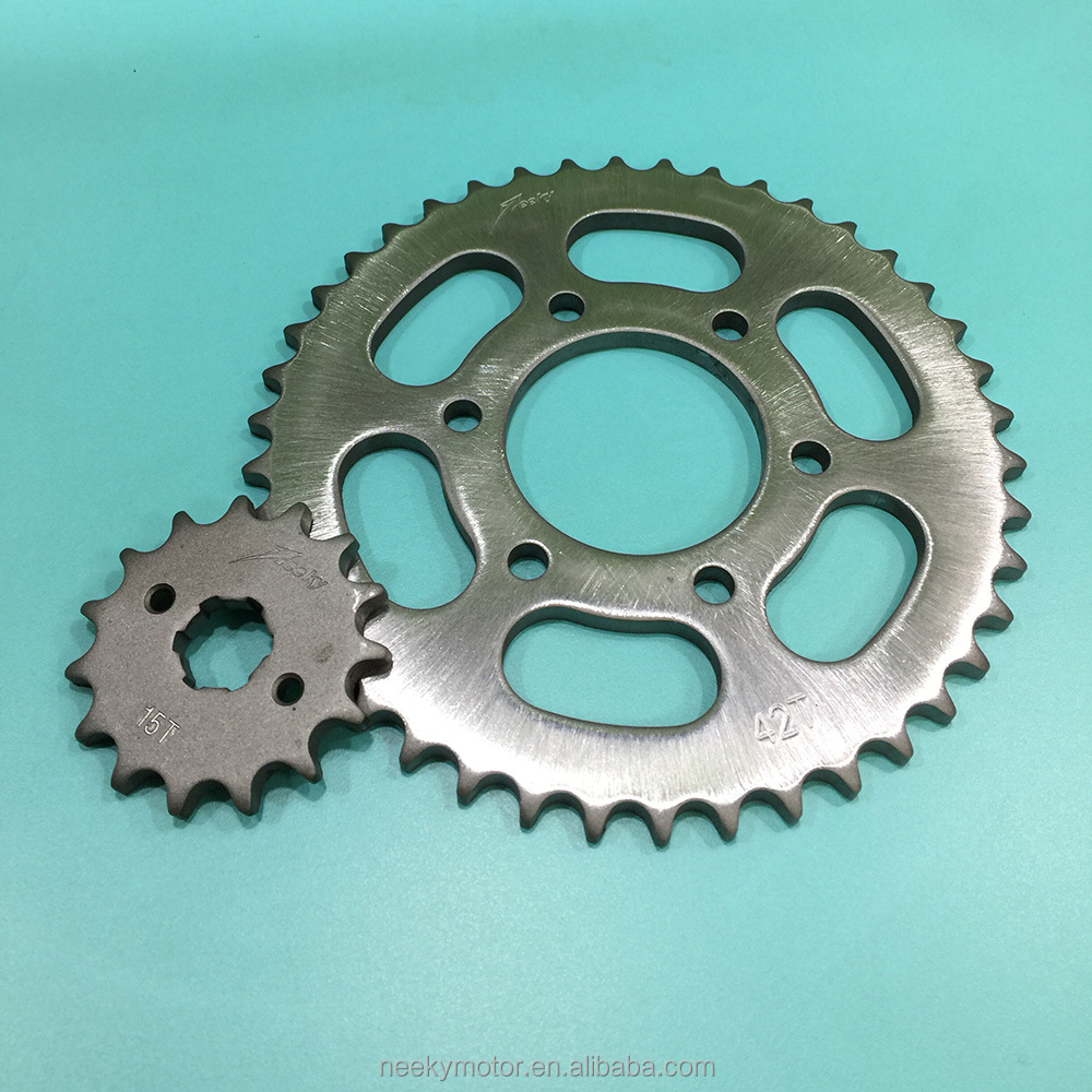 Chinese Unique Japanese Technologic Motorcycle Spare Parts Sprocket Sets GN125 for Motorcycles