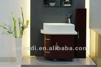 Pure acrylic solid surface wash basins and sinks