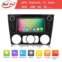 7 Inch 2 Din Quad Core Android System For BMW E90/91/92/93 With Android 4.4.4 OS HD Car DVD Player