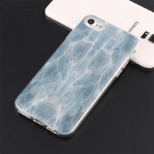Ultra-Thin Slim Fit Marble Pattern cover for iphone 7 case