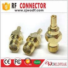 RF jack female to male crc9 male hdmi to female vga rf cable adapter