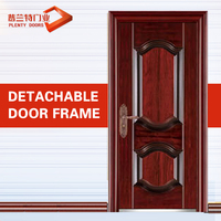 Exterior fancy steel main metal gate french entry doors models steel