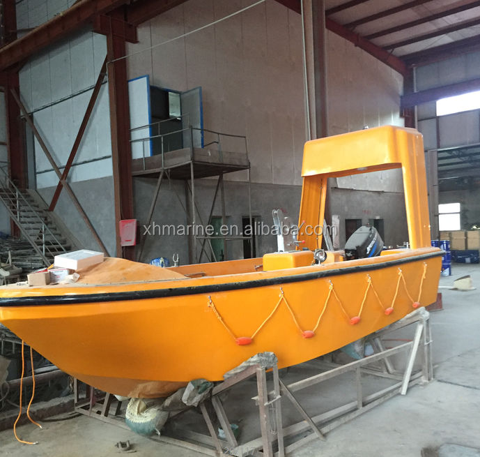 SOLAS 6 persons FRP rescue <strong>boat</strong> good quality and cheap price
