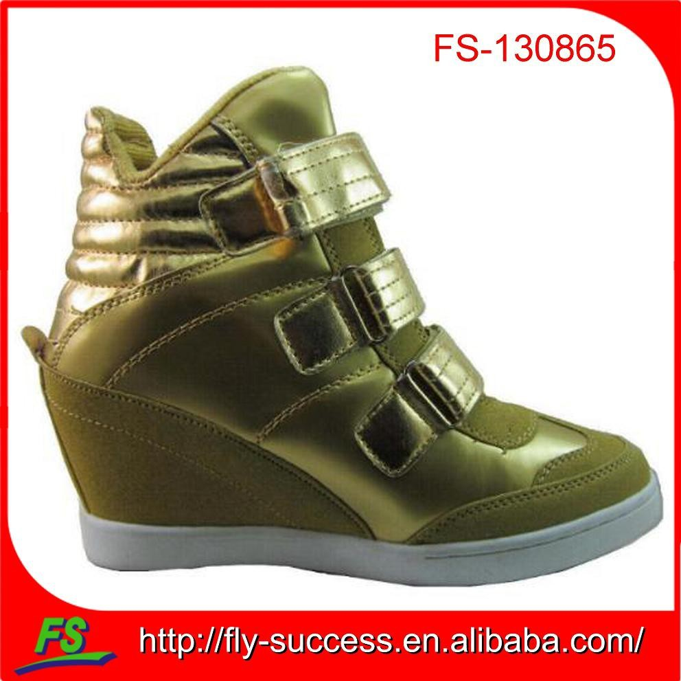 high wedge sneaker for women,lady wedge sneakers,wedge sneakers for women