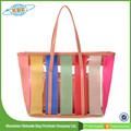 2015 New Style Best Quality Cheaper PVC Waterproof Beach Bag With Zipper