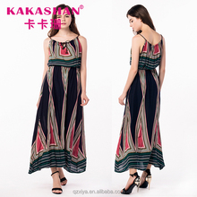Wholesale Thailand Dresses Plus Size Women Clothing Long Summer Dress