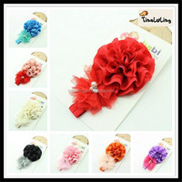 wholesale Baby Toddler flower headband Cheap Hair Accessories TLLC-93