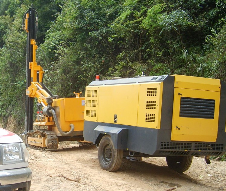 75hp Portable Air Compressor For Road Construction Buy