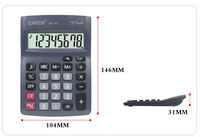 8 digits desktop beeping sound handheld calculator