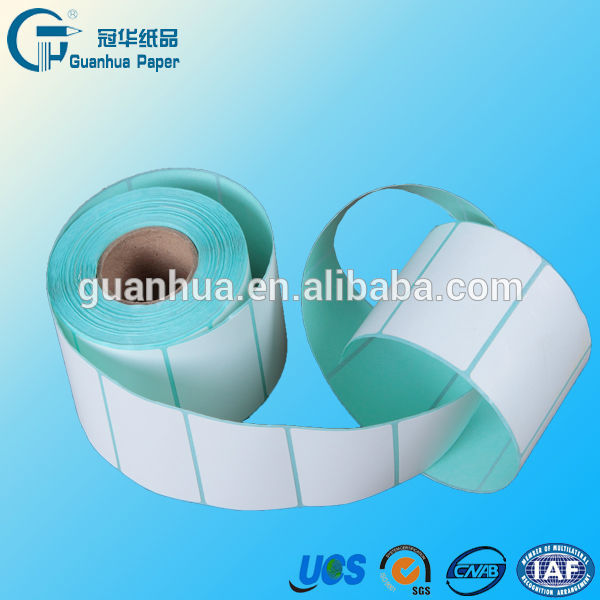 30mm*50mm direct thermal label rolls barcode